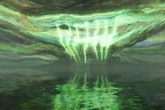 """Kadras iš virtualios realybės animacijos """"Angelų takais"""""""