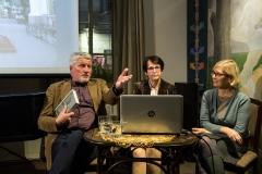 Pokalbis apie dailės istoriką ir kritiką M. Vorobjovą: Prof. habil. dr. Egidijus Aleksandravičius, prof. dr. Rasa Andriušytė–Žukienė ir prof. dr. Giedrė Jankevičiūtė