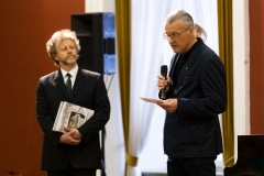 """Koncertas ,,Čiurlionis modernėjančioje Lietuvoje"""" Čiurlionio draugijos pirmininkas, dailininkas – Saulius Valius"""