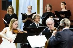 """Koncertas ,,Čiurlionis modernėjančioje Lietuvoje""""  Valstybinis Vilniaus kvartetas,  pianistas Rokas Zubovas ir Vilniaus Čiurlionio namų choras"""