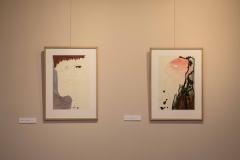 """Antano Mončio (1921-1993) kūrinių paroda """"Meniniai pasisveikinimai"""""""