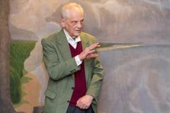 """Ričardo Dailidės fotodokumentikos parodos """"Iš praeities atgimstantys...(1974–1994 m.)"""" atidarymo vakaras. Fotografas Ričardas Dailidė"""