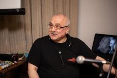 """ŠLIPAS ,,Laiškai iš praeities"""" paroda ir muzikinis performansas.  Džiazo atlikėjas ir kompozitorius, saksofonininkas Vytautas Labutis."""