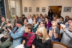 """S. Žvirgždo fotografijų parodos atidarymas ir knygos """"M. K. Čiurlionis ir Vilnius"""" pristatymas"""