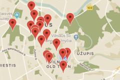 """""""Čiurlionio Vilnius"""" mobilioji programėlė"""