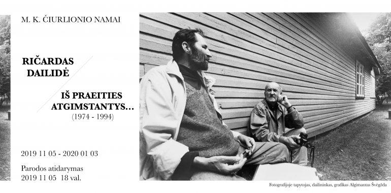 """Ričardo Dailidės fotodokumentikos paroda """"Iš praeities atgimstantys…(1974–1994 m.)"""""""